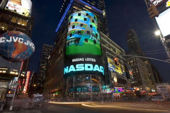 Nasdaq, New York. Photo: Nasdaq