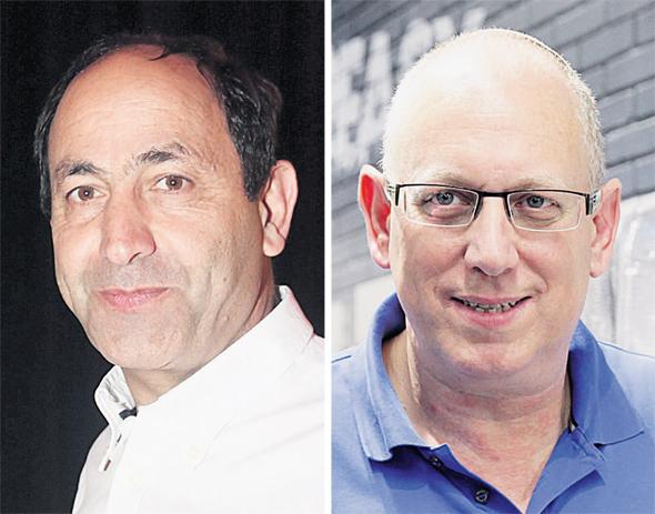 מימין מייסד קופיקס אבי כץ ו רמי לוי, צילומים: אוראל כהן
