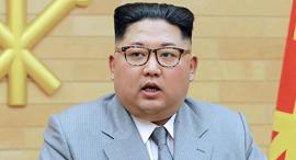 מנהיג צפון קוריאה קים ג'ונג און, צילום: איי.אף.פי