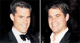 מימין: סת' וברוק טאוב, בעלי השליטה במדלי, צילום: גטי אימג'ס