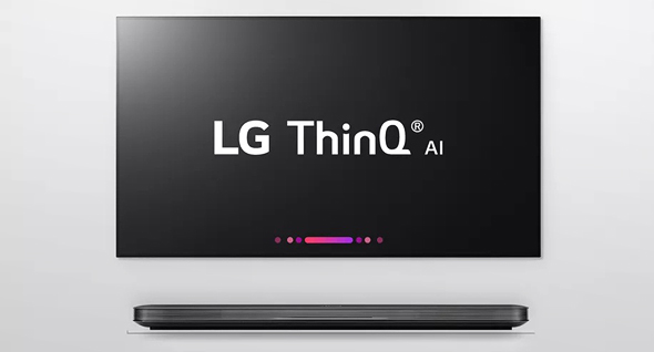 LG THINQ טלוויזיה חכמה הפעלה קולית