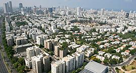 תל אביב צילום אויר מבט אויר, צילום: עמית שעל