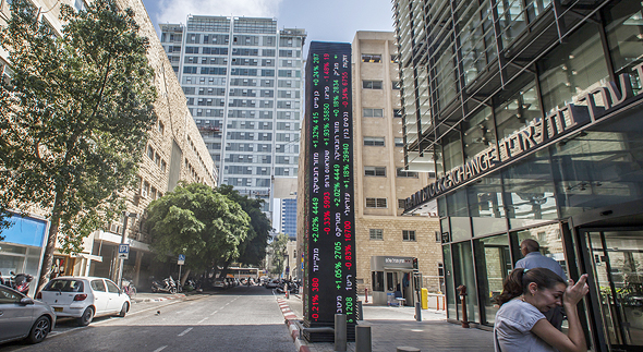 Tel Aviv Srock Exchange. Photo: Bloomberg