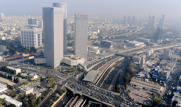 Tel Aviv's skyline. Photo: Bloomberg