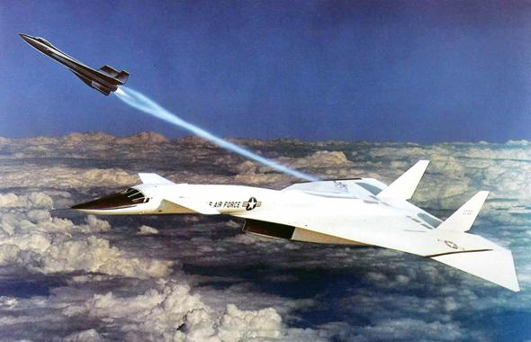 איור של מטוס ה-XB70