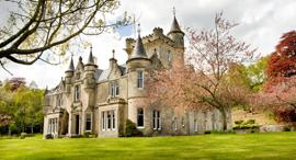 טירה אחוזה למכירה  Rothes Glen House סקוטלנד, צילום: SAVILLS