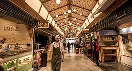 שוק אוכל אלנבי רוטשילד ב תל אביב, צילום: יובל חן