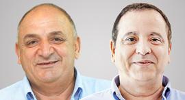 מימין קובי מימון ו יצחק תשובה, צילומים: אוראל כהן, גלעד קוולרצ'יק
