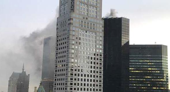 שריפה מגדל טראמפ ניו יורק, צילום:  TWITTER@NYCPOV