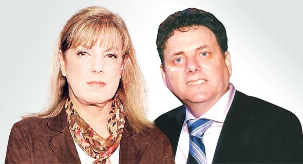 מימין דודי ורטהיים ליאורה עופר, צילום: עמית שעל, אוראל כהן