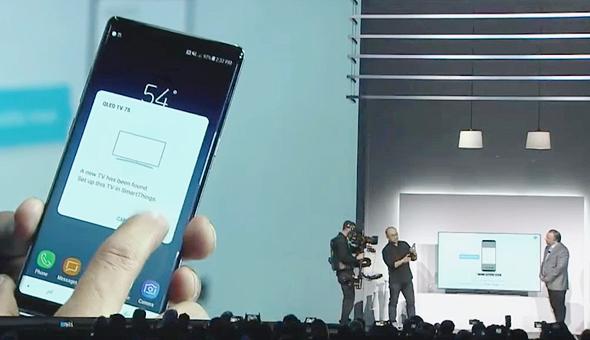 סמסונג CES מכשירים חכמים, צילום מסך: Youtube
