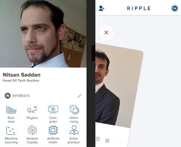 ריפל Ripple רשתות חברתיות טינדר, צילום: Ripple