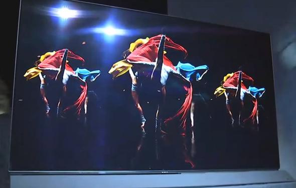 טלוויזיית פנסוניק, צילום: youtube