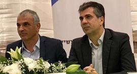 השרים אלי כהן ומשה כחלון, צילום: משרד הכלכלה והתעשייה
