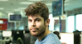 """תומר טגרין תגרין מנכ""""ל yotpo , צילום: אוראל כהן"""