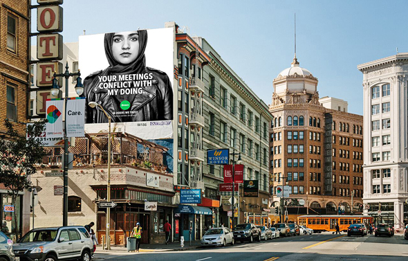 Fiverr Advertisement, צילום: Fiverr International Ltd.