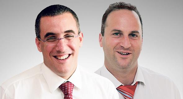 מימין: עורכי הדין גיא נוף ושמואל קסוטו. טענות על ניגוד עניינים