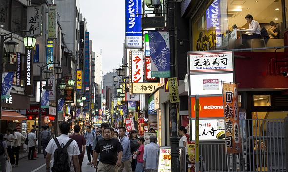רובע הקניות קישיג'וג'י בטוקיו