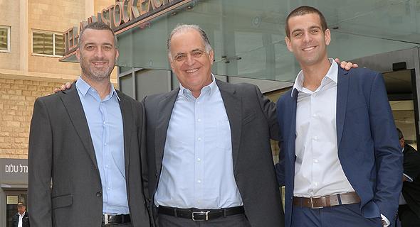 """דורון  ברנמילר הממונה על הפיתוח העסקי, אבי ברנמילר המנכ""""ל והמייסד, ניר ברנמילר הממונה על הכספים ועל התפעול"""