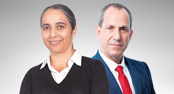 שמואל האוזר וענת גואטה, צילום: עמית שעל, ענר גרין