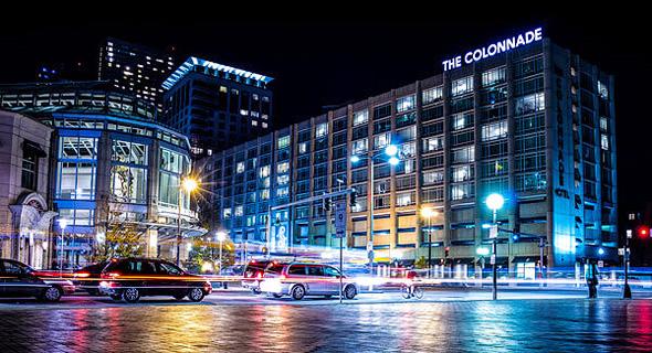 מלון קולונייד בבוסטון. הטמפרטורה צונחת? תשלמו פחות, צילום: Colonnade Hotel