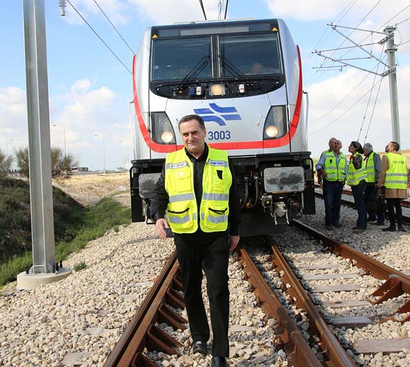 Yisrael Katz. Photo: Ministry of Transportation PR