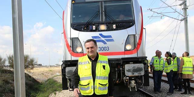 כץ מקדם רכבת קלה מירושלים לבית שמש על התוואי הישן