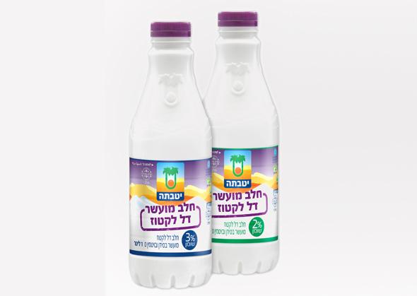"""שטראוס חלב דל לקטוז 2% 3%, צילום: יח""""צ"""