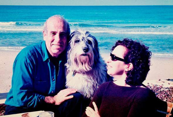 """לוין ואביה. """"בן זוגי וילדיי תמיד ידעו שאבא שלי הוא במקום הראשון"""""""