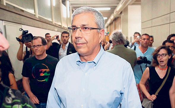 """מנכ""""ל בנק הפועלים לשעבר ציון קינן. לא קידם את סגירת הפרשה, צילום: מוטי קמחי"""