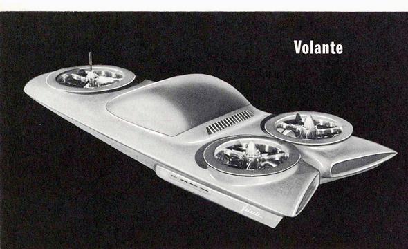 עיצוב הקונספט של פורד, צילום: Toyland