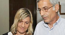 שלמה בשה ו יפה בשה הוריו של צחי בשה ש נרצח ב קטטה, צילום: אביגיל עוזי
