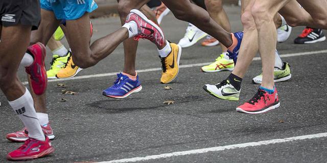 מרתון. לא מדייק בזמן, צילום: רויטרס