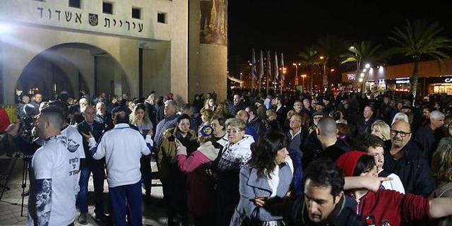 """2,500 מוחים בקרב על השבת: """"מאשדוד תצא המהפכה"""""""