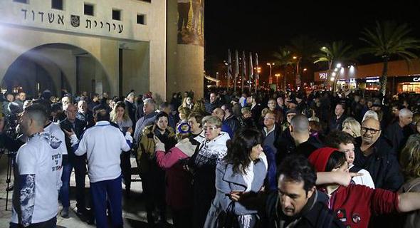 הפגנת החילונים הערב באשדוד