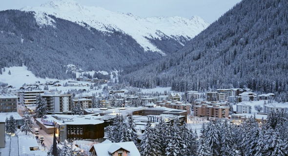 Davos, Switzerland. Photo: Bloomberg