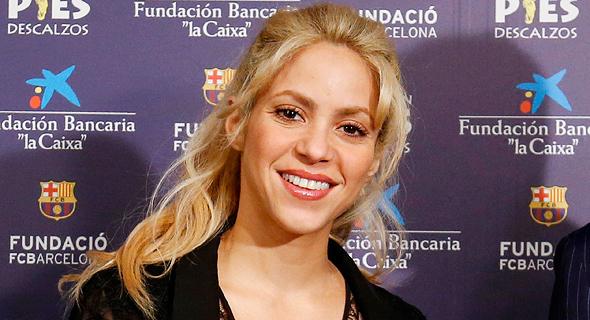 הזמרת הקולומביאנית שאקירה