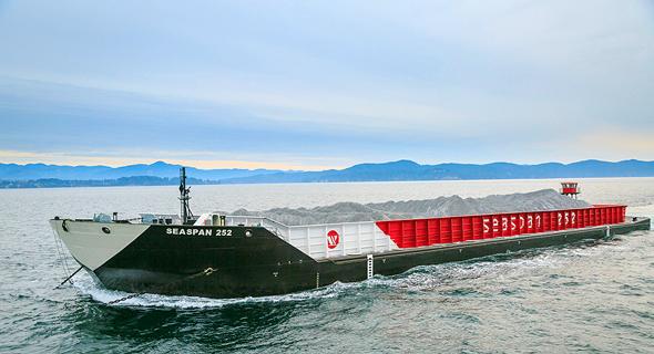 ספינת תובלה של סיספן, צילום: אתר החברה seapan