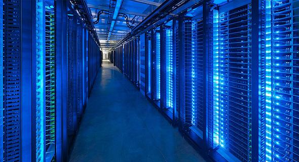 An Amazon server farm. Photo: Amazon