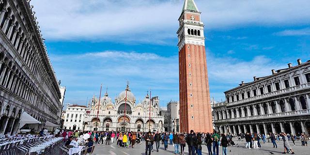 ונציה תתחיל לגבות 10 יורו דמי כניסה לעיר
