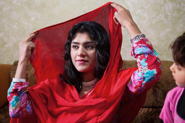 הזמרת פרי גהולמי, צילומים: Lela Ahmadzai