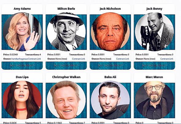 CryproCelebrities