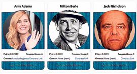 פנאי Crypto Celebrities קלפים סלבס