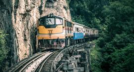 פוטו דרכים חוויית נסיעה רכבת המוות תאילנד קנצנבורי , צילום: שאטרסטוק