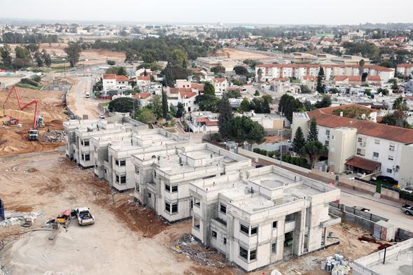 הממשלה פספסה את היעד: ירידה של 14% בהתחלות הבנייה בשנת 2017