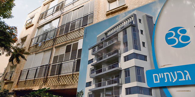 """התחדשות עירונית: תל אביב־יפו ראשונה במספר הבקשות להיתרי תמ""""א 38 ב־2017"""