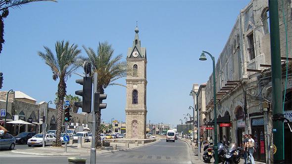 כיכר השעון ביפו, העיר העתיקה
