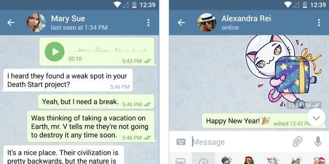 חדש בטלגרם: מחיקה מלאה של ההודעות, גם במכשירים של אחרים