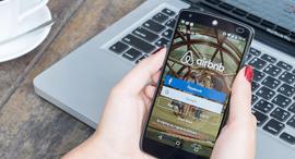 אפליקציית Airbnb , צילום: שאטרסטוק