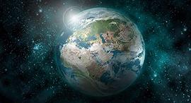 כדור הארץ מהחלל, צילום: shutterstock